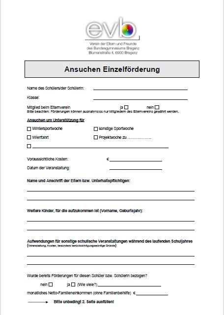 Förderansuchen Einzelförderung als pdf